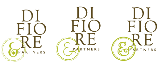 DiFiore & Partners Logo and Ampersands