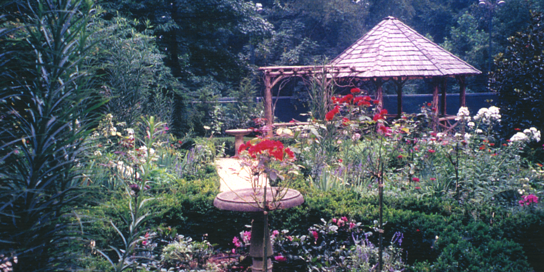Rustic Garden Structure